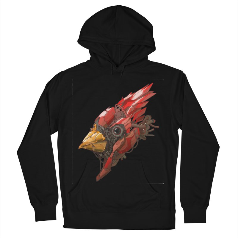 Cardinal Singe Women's French Terry Pullover Hoody by jasongamber's Artist Shop
