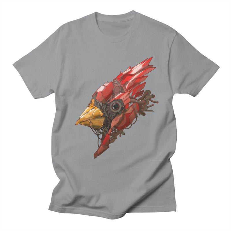 Cardinal Singe Men's T-shirt by jasongamber's Artist Shop