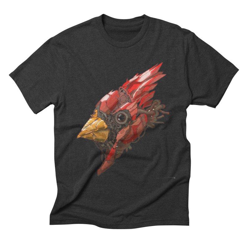 Cardinal Singe Men's Triblend T-Shirt by jasongamber's Artist Shop