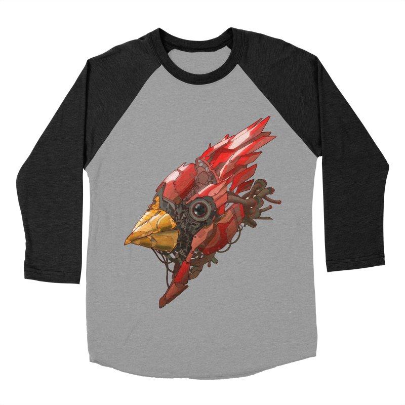 Cardinal Singe Women's Baseball Triblend Longsleeve T-Shirt by jasongamber's Artist Shop