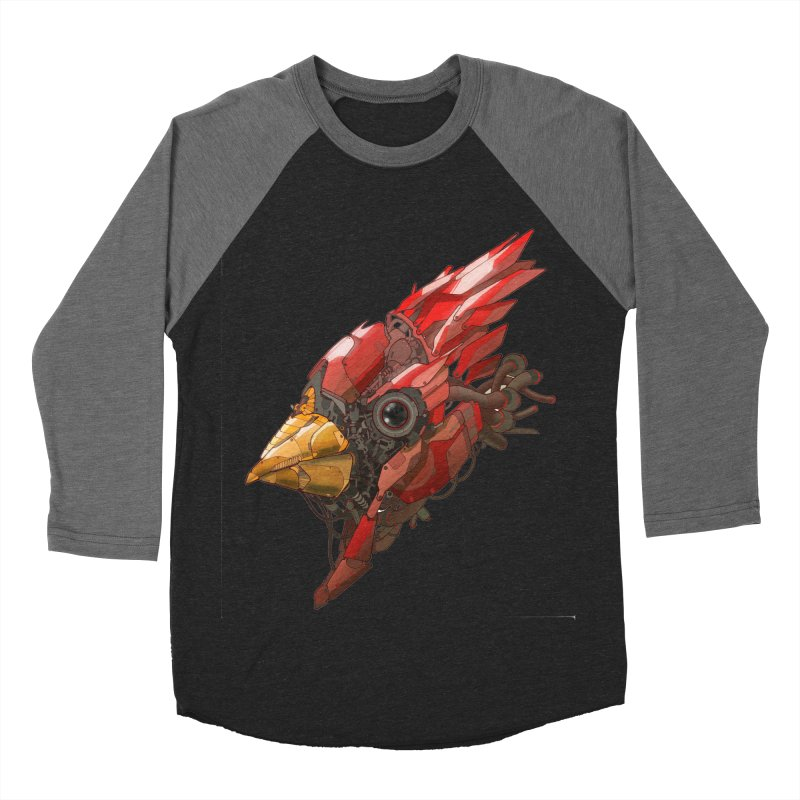 Cardinal Singe Men's Longsleeve T-Shirt by jasongamber's Artist Shop