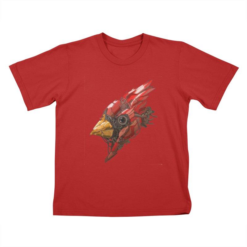 Cardinal Singe Kids T-shirt by jasongamber's Artist Shop