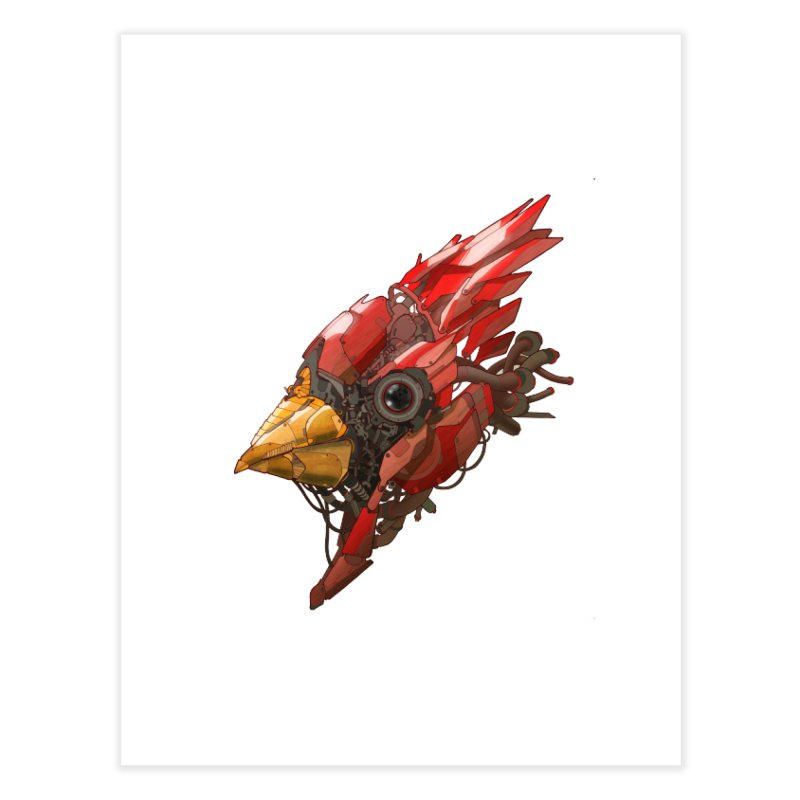Cardinal Singe Home Fine Art Print by jasongamber's Artist Shop