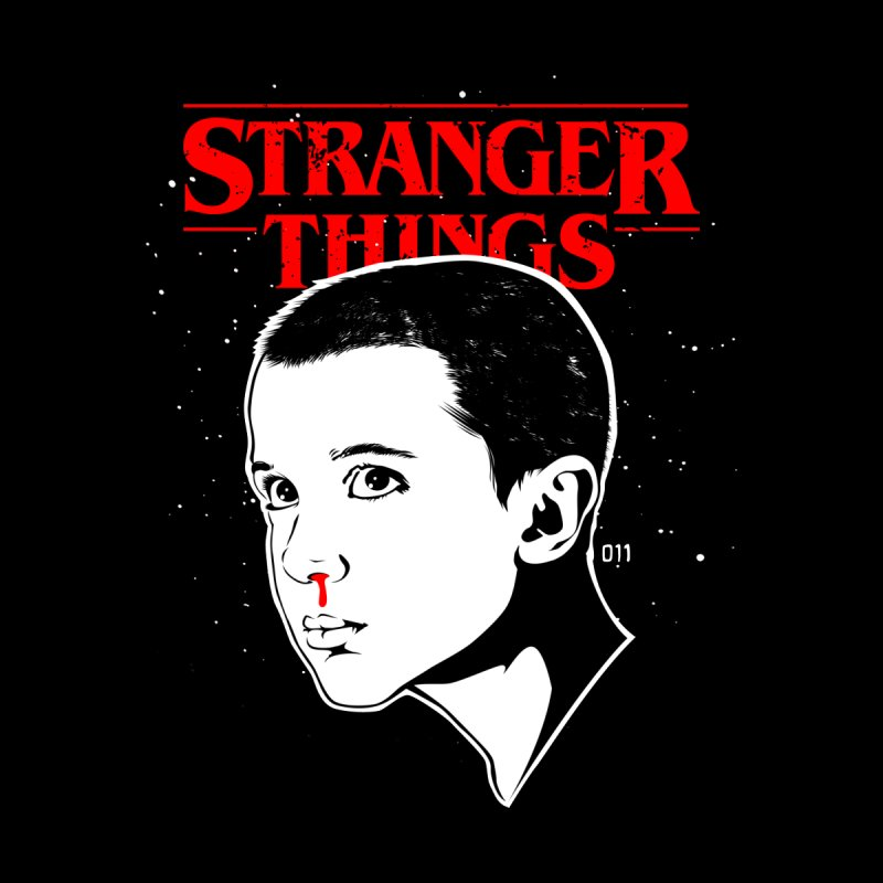 Stranger Things - Eleven Kids Toddler Pullover Hoody by Jason Gilmore's Artist Shop
