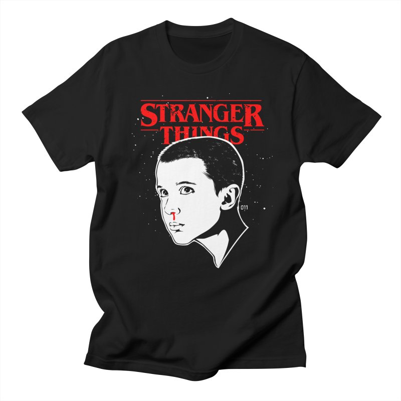 Stranger Things - Eleven Men's T-Shirt by Jason Gilmore's Artist Shop