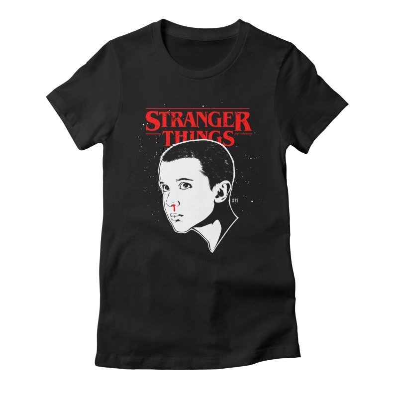 Stranger Things - Eleven Women's T-Shirt by Jason Gilmore's Artist Shop