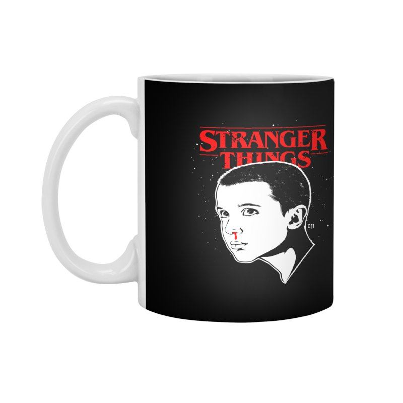 Stranger Things - Eleven Accessories Mug by Jason Gilmore's Artist Shop