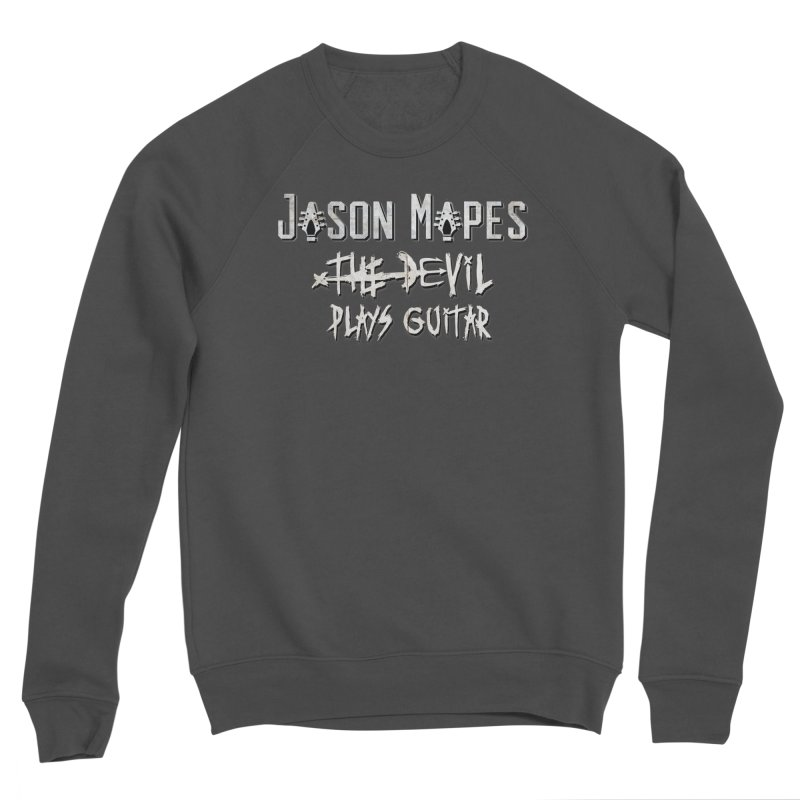 The Devil Plays Guitar Logo Men's Sponge Fleece Sweatshirt by Jason Mapes Online Swag Shop