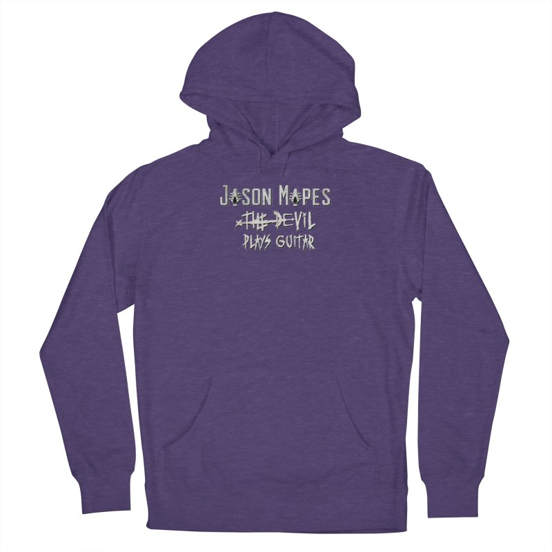 The Devil Plays Guitar Logo Women's French Terry Pullover Hoody by Jason Mapes Online Swag Shop