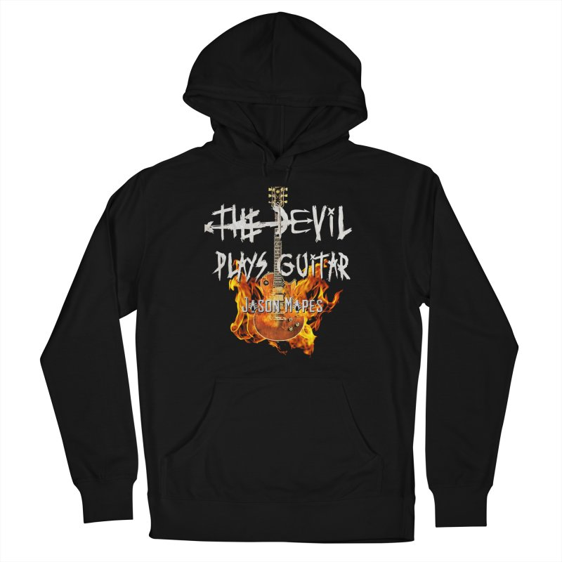 The Devil Plays Guitar Fire Logo Women's Pullover Hoody by Jason Mapes Online Swag Shop