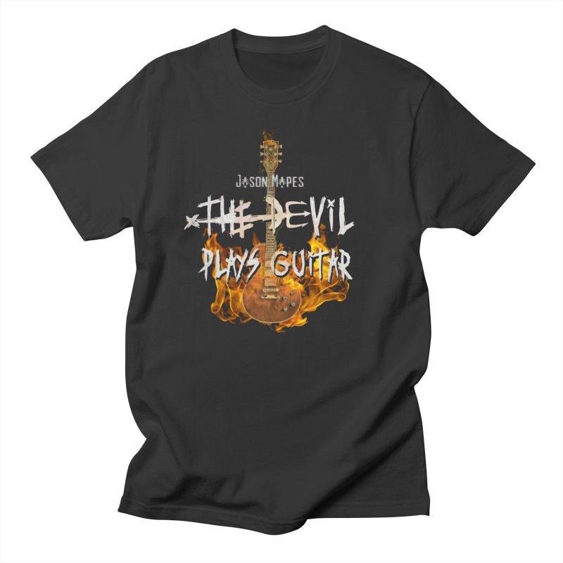 Jason Mapes The Devil Plays Guitar Logo Women's T-Shirt by Jason Mapes Online Swag Shop