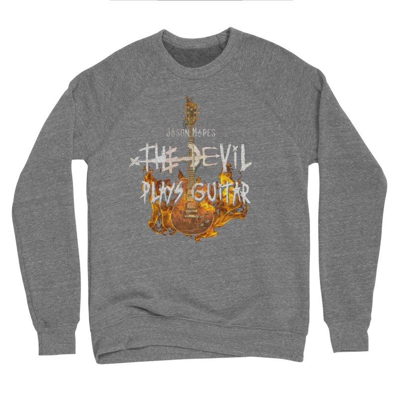 Jason Mapes The Devil Plays Guitar Logo Women's Sweatshirt by Jason Mapes Online Swag Shop