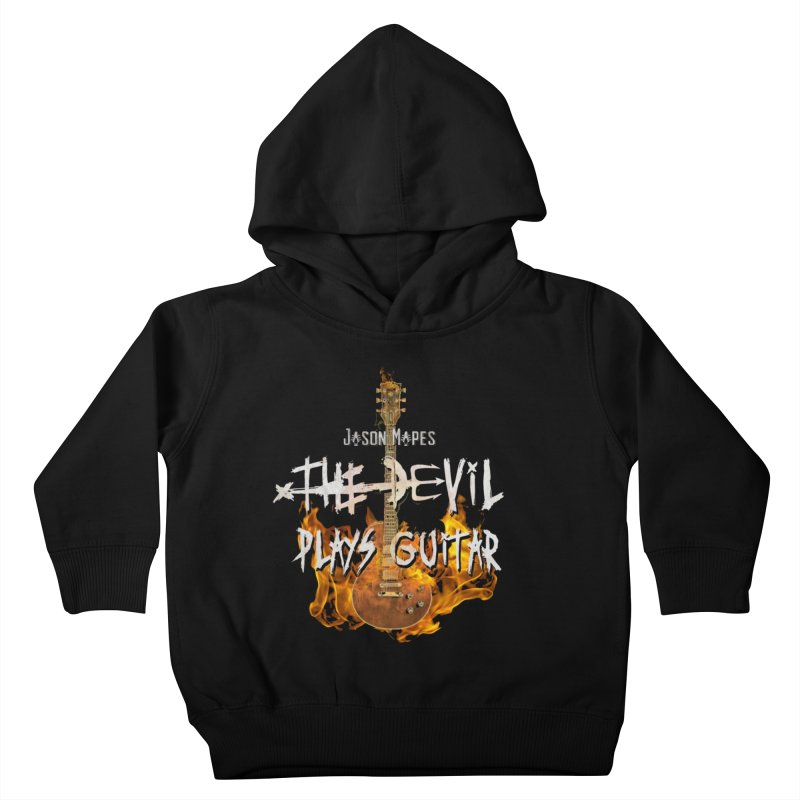 Jason Mapes The Devil Plays Guitar Logo Kids Toddler Pullover Hoody by Jason Mapes Online Swag Shop