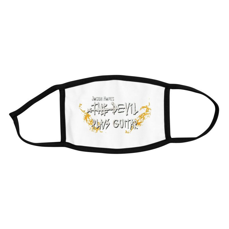 Subtle Flaming Logo Accessories Face Mask by Jason Mapes Online Swag Shop