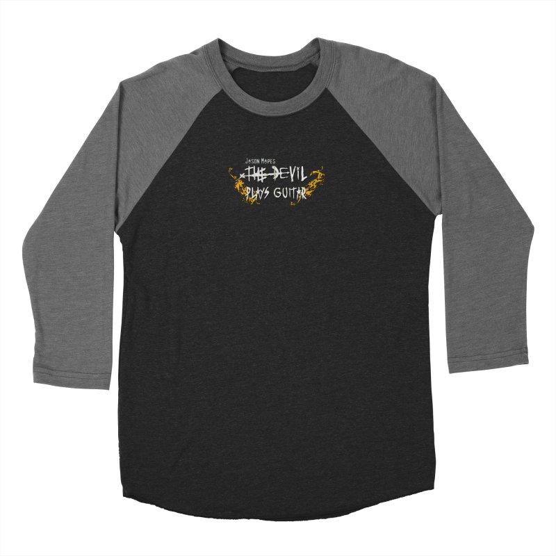 Subtle Flaming Logo Women's Longsleeve T-Shirt by Jason Mapes Online Swag Shop