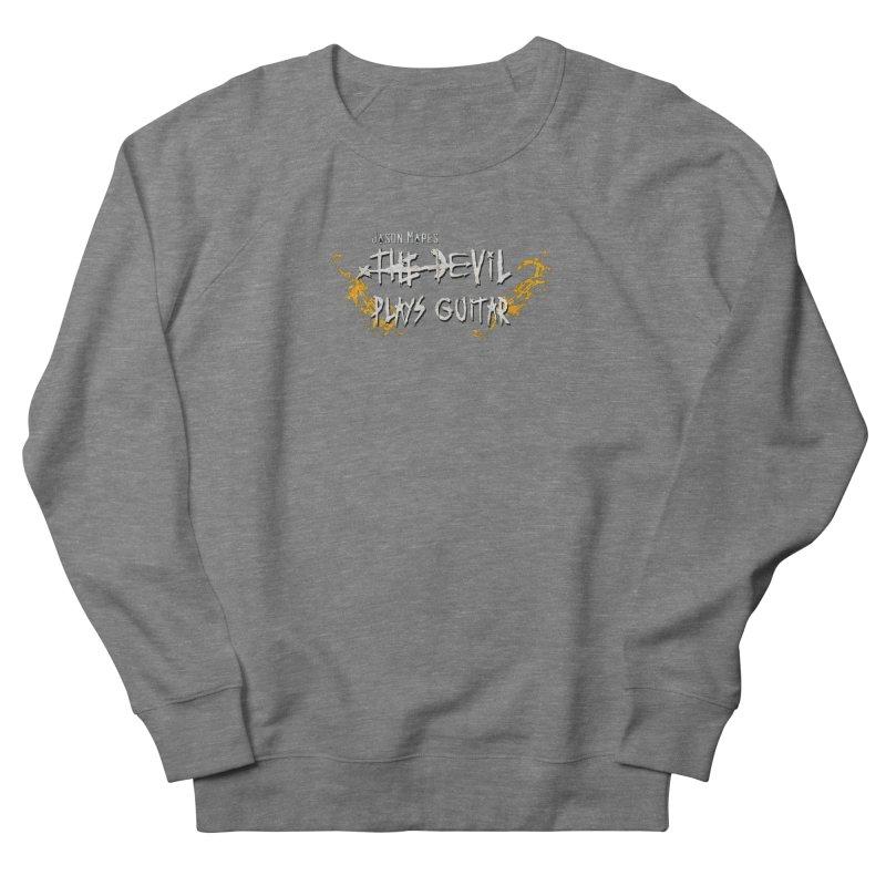 Subtle Flaming Logo Men's Sweatshirt by Jason Mapes Online Swag Shop