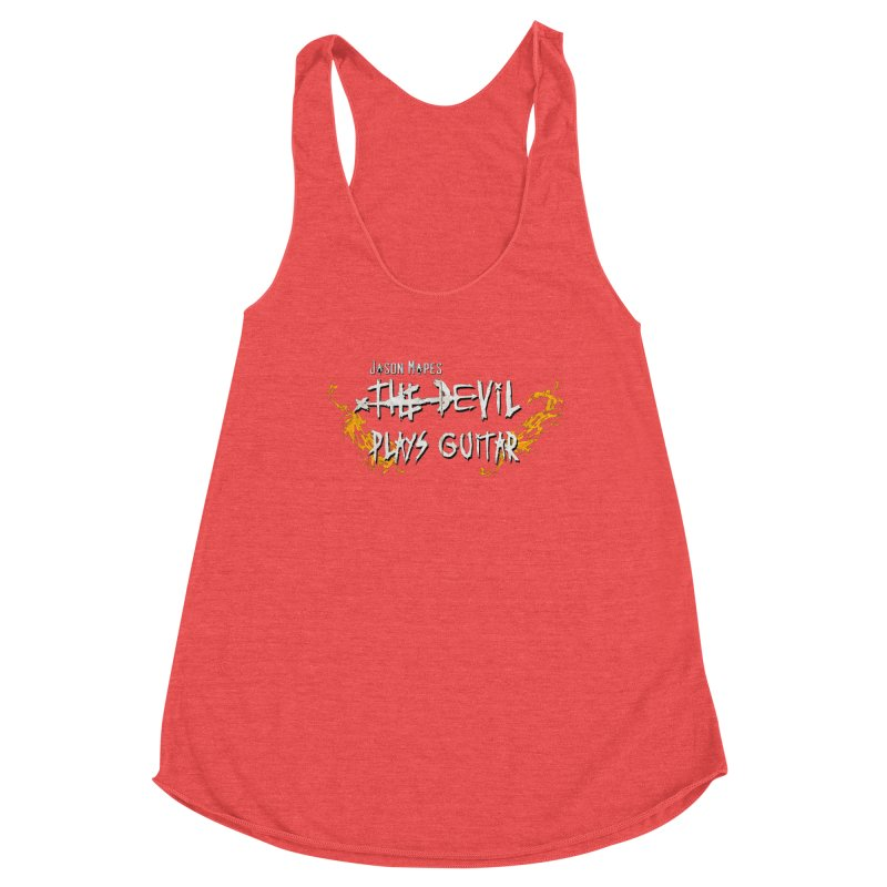 Subtle Flaming Logo Women's Tank by Jason Mapes Online Swag Shop