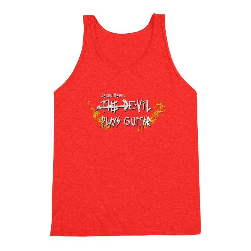 Subtle Flaming Logo Men's Tank by Jason Mapes Online Swag Shop