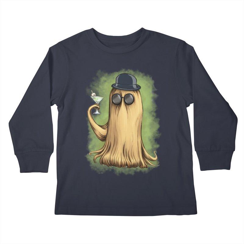 Cousin It Kids Longsleeve T-Shirt by jasonmartian's Artist Shop