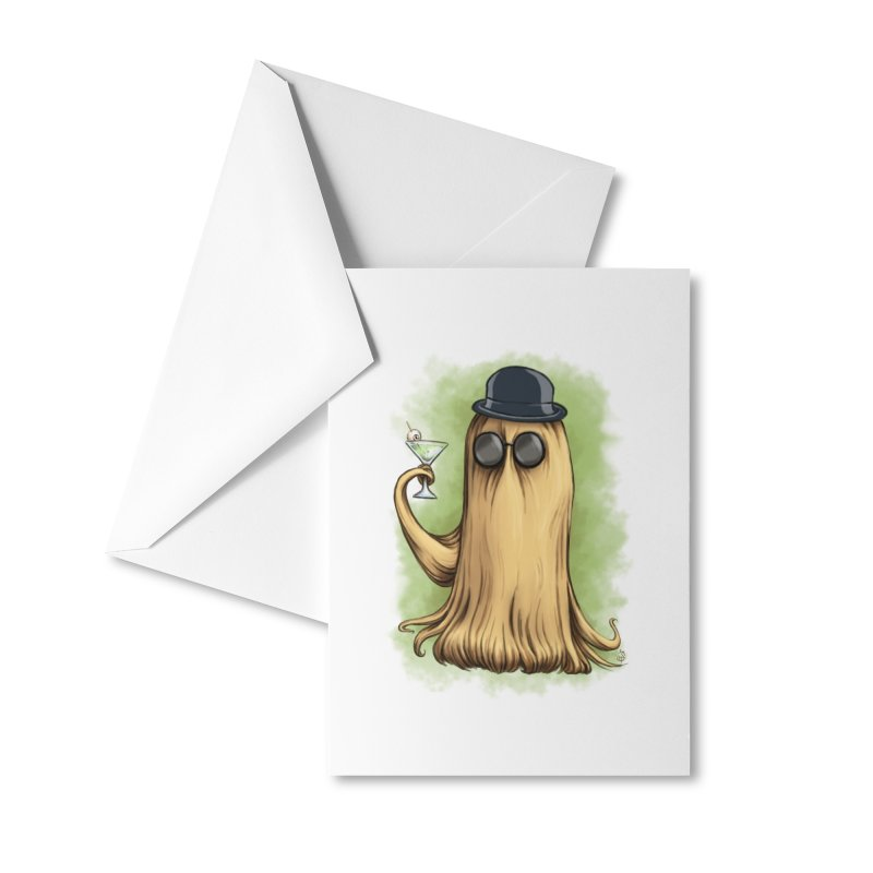 Cousin It Accessories Greeting Card by The Artist Shop of Jason Martian