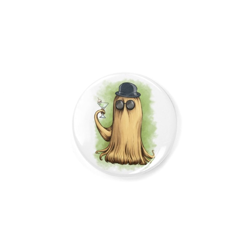 Cousin It Accessories Button by The Artist Shop of Jason Martian