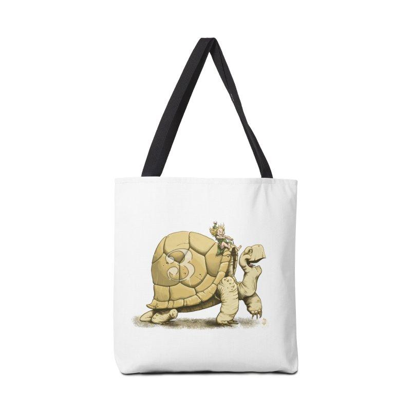 Tortoise #3 Accessories Bag by The Artist Shop of Jason Martian