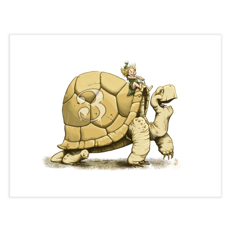 Tortoise #3 Home Fine Art Print by The Artist Shop of Jason Martian