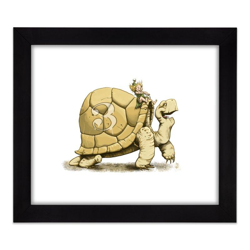 Tortoise #3 Home Framed Fine Art Print by The Artist Shop of Jason Martian