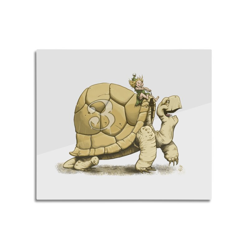 Tortoise #3 Home Mounted Acrylic Print by The Artist Shop of Jason Martian
