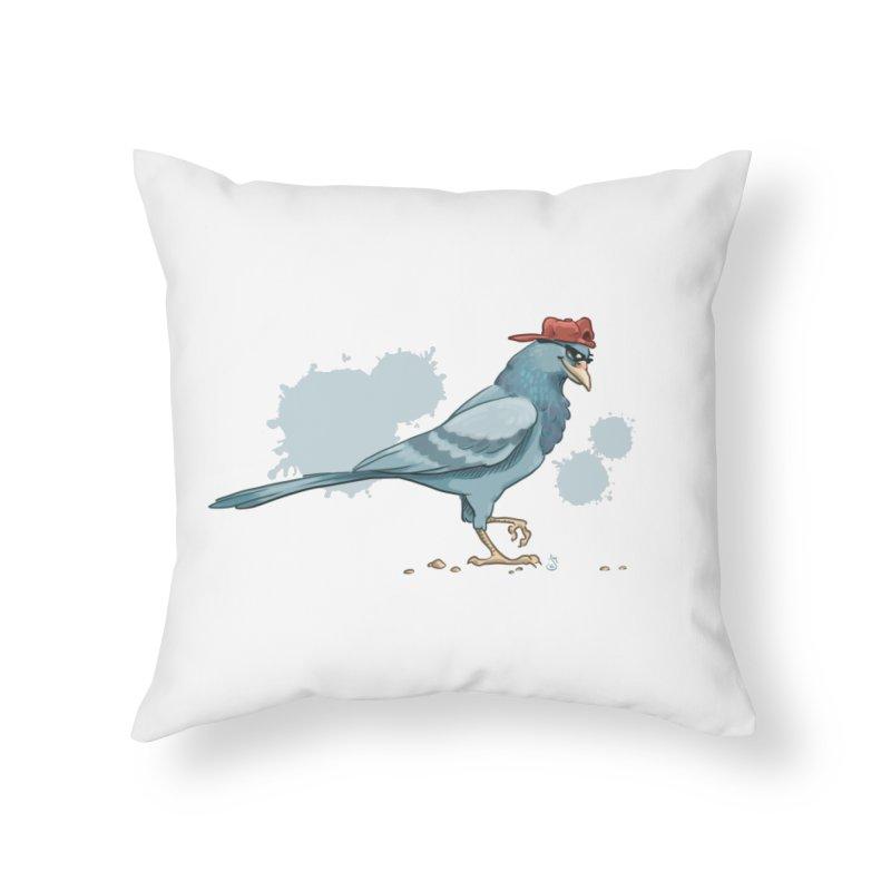 Shades Home Throw Pillow by The Artist Shop of Jason Martian