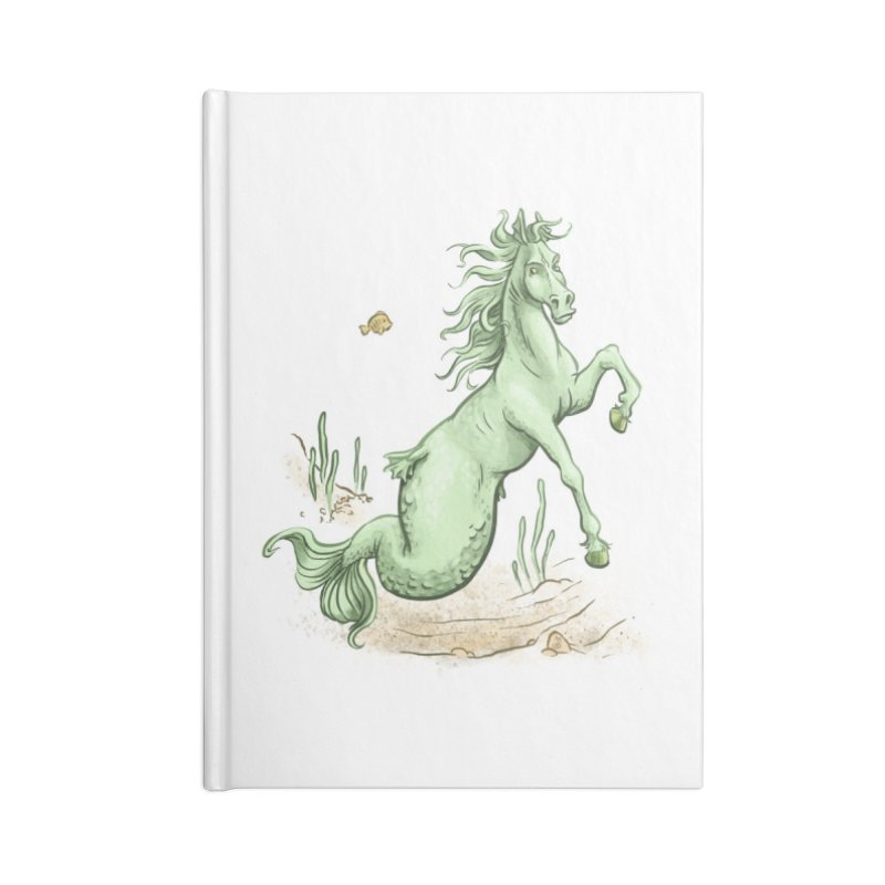 Sea Horse Accessories Notebook by The Artist Shop of Jason Martian