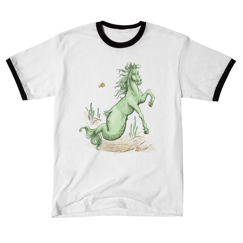 Sea Horse Men's T-Shirt by The Artist Shop of Jason Martian