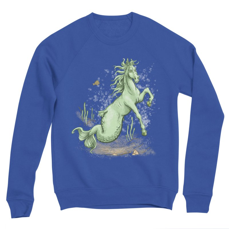 Sea Horse Women's Sweatshirt by The Artist Shop of Jason Martian