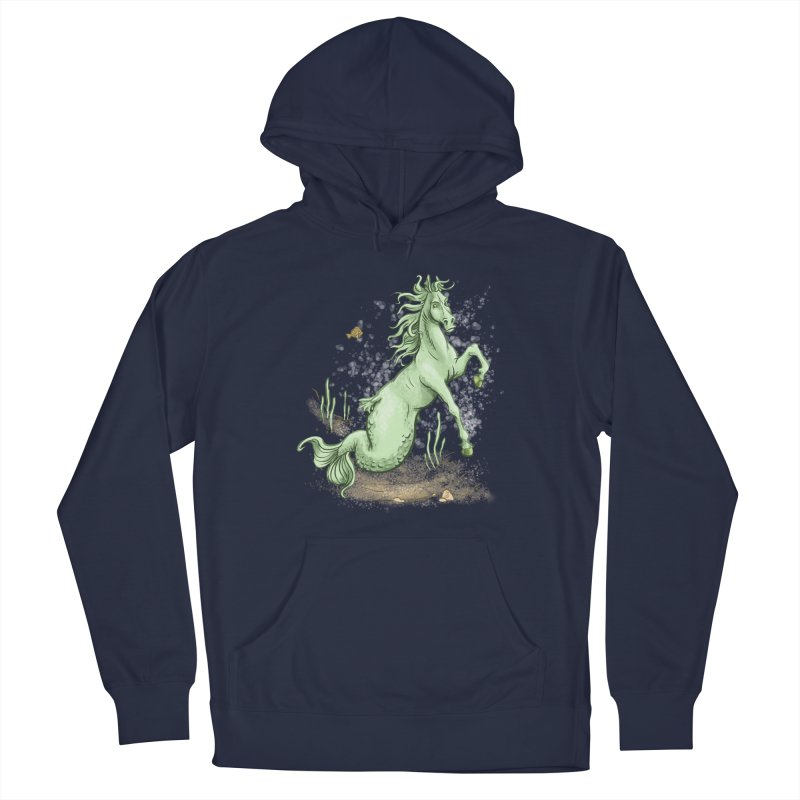 Sea Horse Men's Pullover Hoody by The Artist Shop of Jason Martian