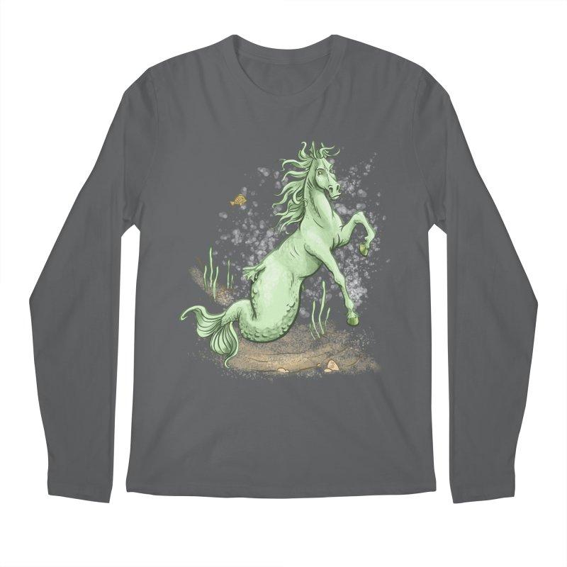 Sea Horse Men's Longsleeve T-Shirt by The Artist Shop of Jason Martian