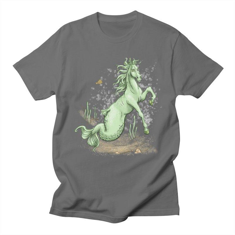 Sea Horse Men's T-Shirt by jasonmartian's Artist Shop