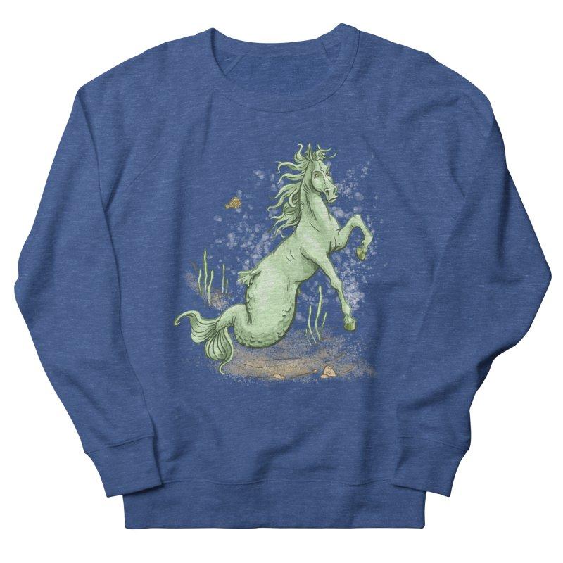 Sea Horse Men's Sweatshirt by The Artist Shop of Jason Martian