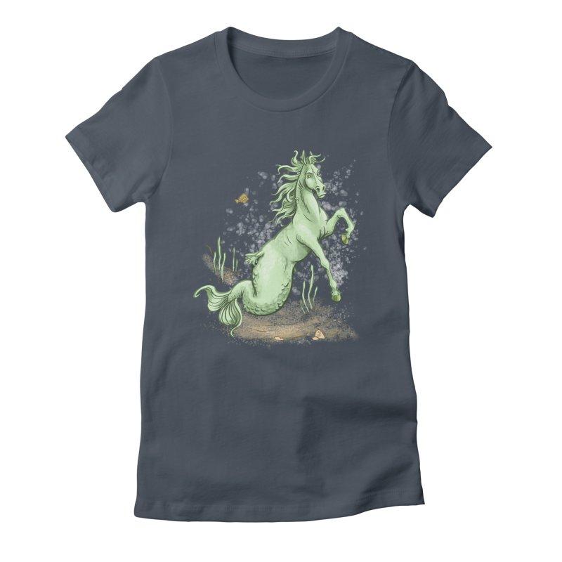 Sea Horse Women's T-Shirt by The Artist Shop of Jason Martian