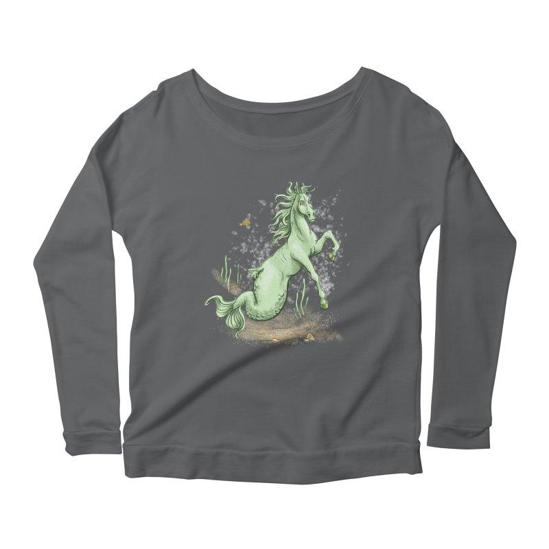 Sea Horse Women's Longsleeve T-Shirt by The Artist Shop of Jason Martian