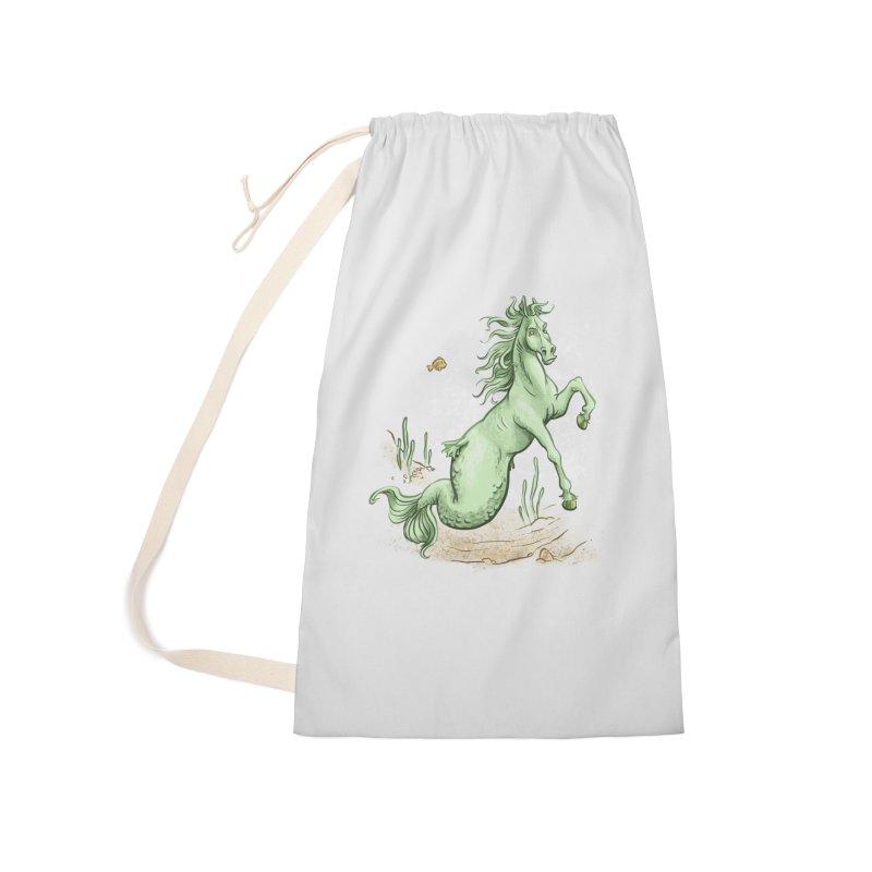 Sea Horse Accessories Bag by The Artist Shop of Jason Martian