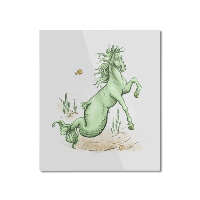 Sea Horse Home Mounted Aluminum Print by jasonmartian's Artist Shop