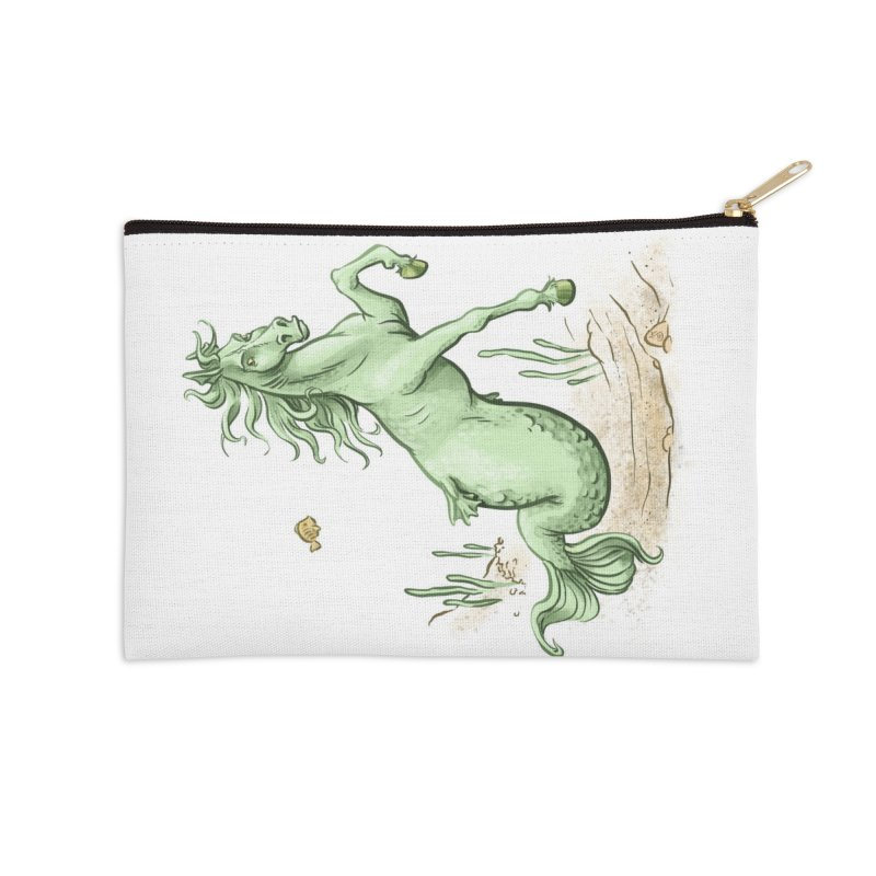 Sea Horse Accessories Zip Pouch by The Artist Shop of Jason Martian