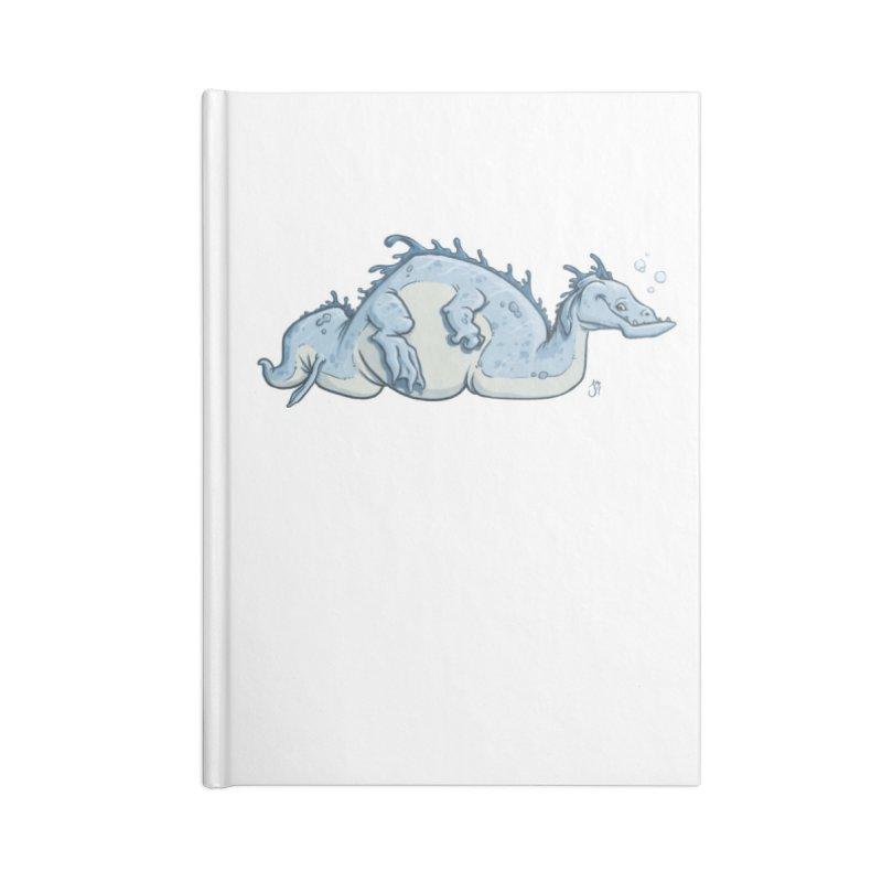 Sea Serpent Accessories Notebook by The Artist Shop of Jason Martian