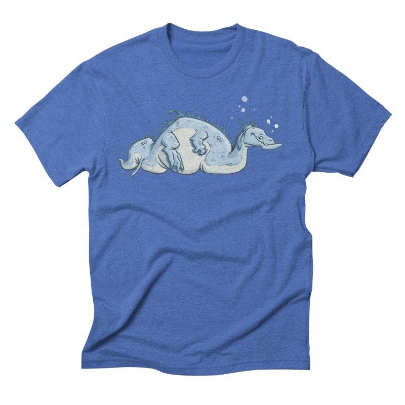 Sea Serpent Men's T-Shirt by The Artist Shop of Jason Martian