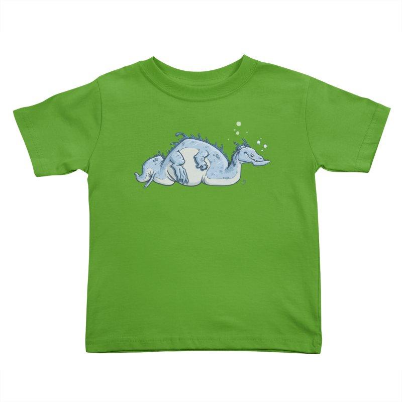 Sea Serpent Kids Toddler T-Shirt by The Artist Shop of Jason Martian