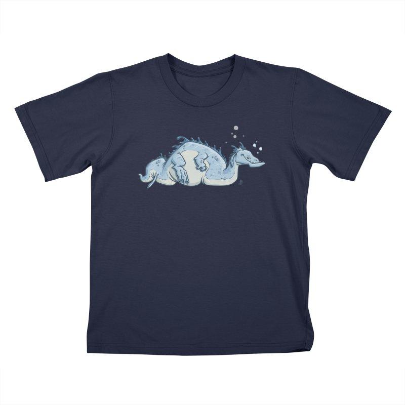 Sea Serpent Kids T-Shirt by The Artist Shop of Jason Martian