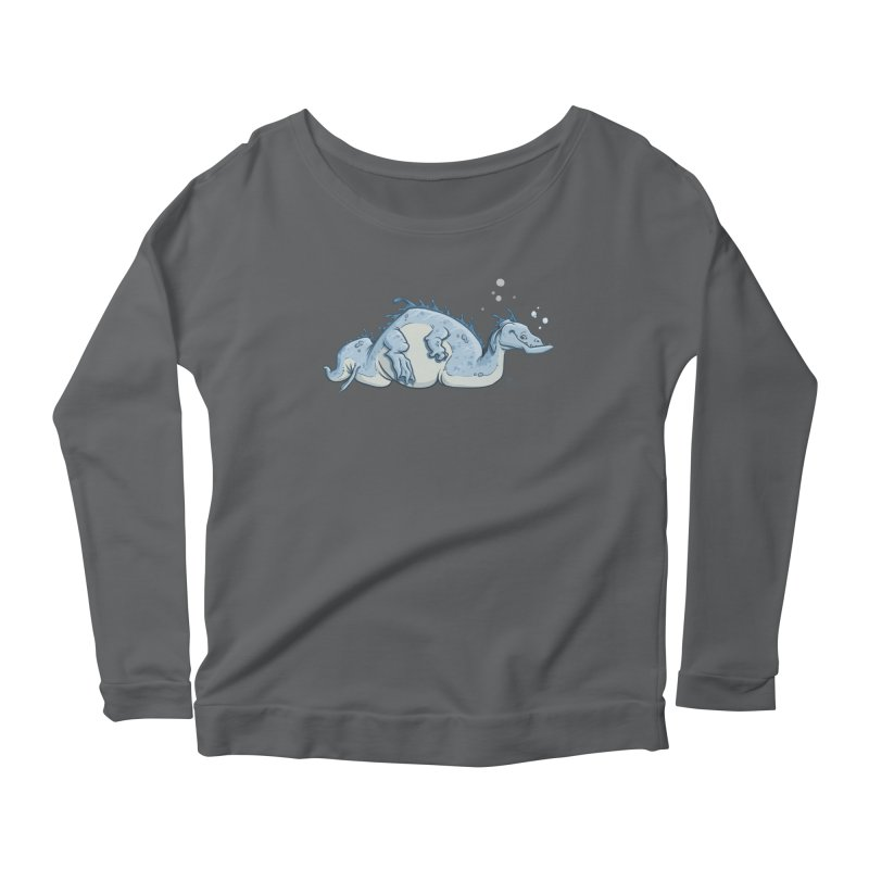 Sea Serpent Women's Longsleeve T-Shirt by The Artist Shop of Jason Martian