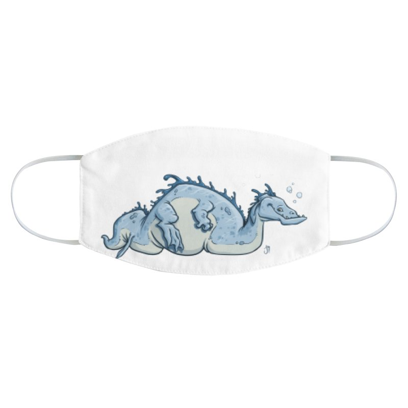 Sea Serpent Accessories Face Mask by The Artist Shop of Jason Martian