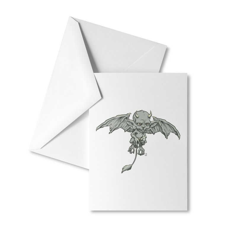 A Familiar Imp Accessories Greeting Card by The Artist Shop of Jason Martian