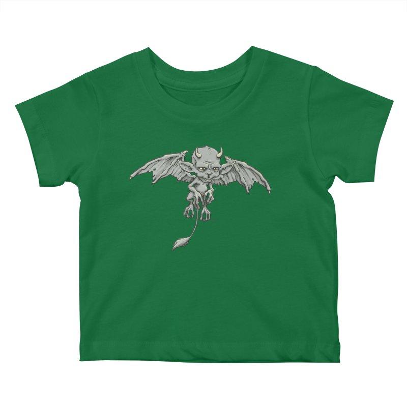 A Familiar Imp Kids Baby T-Shirt by The Artist Shop of Jason Martian